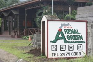 Hotel Arenal Green in La Fortuna